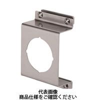 岩田製作所 計測機器 圧力ゲージブラケット(アナログ用) オフセットタイプ1 PAD1-01S 1セット(4個) (直送品)