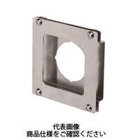 岩田製作所 計測機器 圧力ゲージブラケット(アナログ用) オフセットタイプ2 PAH1-01S 1セット(2個) (直送品)