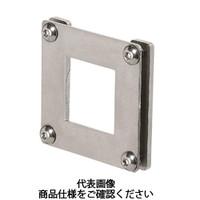 岩田製作所 計測機器 圧力ゲージブラケット(デジタル用) ストレートタイプ PDS1-01S 1セット(6個) (直送品)