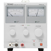 テクシオ・テクノロジー メーター式小型直流安定化電源 PR18-5A (直送品)