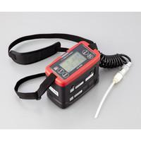 理研計器 ガス検知器・モニター ポータブルガスモニター GX-8000 TYPE-F 2成分測定可 校正証明付 1個 1-3316-11 (直送品)