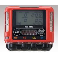 理研計器 ガス検知器・モニター ガスモニター GX-2009 TYPED 2成分測定可 校正証明付 GX-2009TYPE-D 1-6269-34 (直送品)