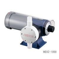 ダイヤフラム式定量ポンプ (50Hz)5〜50mL/min (60Hz)6〜60mL/min フッ素樹脂 MEXZ-50 1-648-11 (直送品)