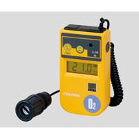 新コスモス電機 酸素濃度計 1m(カールコード式) バイブレーション付 校正証明付 1-8752-16 1個 (直送品)