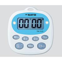 佐藤計量器製作所 キッチンタイマー TM-11LS 1個 2-6181-11 (直送品)