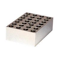 アナテック 電子冷却ブロック恒温槽用 アルミブロック(クールスタット)1.5mL用 28穴 1個 3-5204-11 (直送品)
