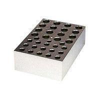 アナテック 電子冷却ブロック恒温槽用 アルミブロック(クールスタット)0.5、1.5mL用 18、16穴 1個 3-5204-13 (直送品)