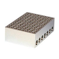 アナテック 電子冷却ブロック恒温槽用 アルミブロック(クールスタット)0.2mL用 96穴 1個 3-5204-14 (直送品)