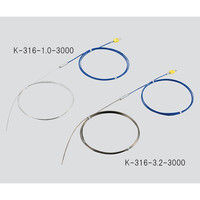 アズワン Kシース熱電対(SUS316タイプ)750℃ φ3.2×3000mm 1個 3-5395-02 (直送品)