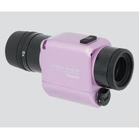 ビクセン(Vixen) ズーム式防振単眼鏡 倍率6〜12倍 パウダーピンク 11491-7 1個 3-5891-01 (直送品)