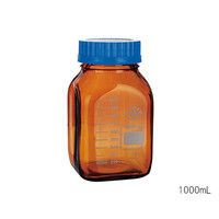 Kavalierglass 広口メディウム瓶 遮光 1000mL 1個 3-6005-02 (直送品)