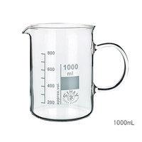 Kavalierglass ガラス手付ビーカー 250mL 1個 3-6008-01 (直送品)