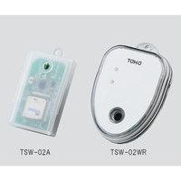 東邦電子 ワイヤレス温湿度ロガー 本体(防滴型) 1個 3-6068-02 (直送品)