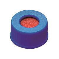 PROQUALITA 低溶出広口スクリューキャップバイアル セプタム付き青キャップ 1箱(100個) 3-6159-11 (直送品)