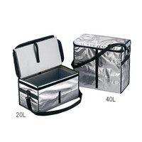 アズワン 折りたたみ式クーラーボックス 真空断熱材入 20L 1個 3-6273-02 (直送品)