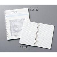 テックスワイプ(Texwipe) クリーンルーム ノートブック レター 216×279mm TX5740 1冊 3-6473-01 (直送品)
