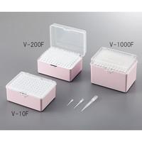アズワン ビオラモサクラチップ フィルター付 1000μL ナチュラル 1箱(960本) 3-6625-03 (直送品)