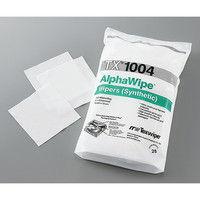 TEXWIPE クリーンワイパー・クロス アルファワイパー 4×4in 150枚×2袋入 TX1004 1袋(300枚) 3-6998-01 (直送品)