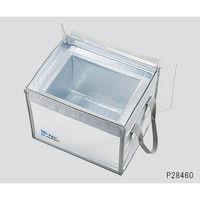 潜熱蓄熱材・輸送ボックスiP-TEC(TM)プレミアBOX-V19(BOX×1個・蓄熱材×6枚) P28462 3-7070-02 (直送品)