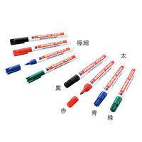 アズワン ラボペン (edding) 太 赤 1.5〜3mm 1本 3-7106-02 (直送品)