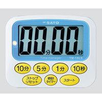 佐藤計量器製作所 大型表示タイマー デカタイマー(R)TM-19LS 1個 8-9267-11 (直送品)