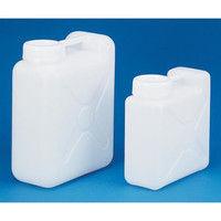 ニッコー 樹脂製広口ボトル フッ素ガスコーティング容器 φ98.5×320×140×336mm 10000mL HFW-10L 3-7329-01 (直送品)