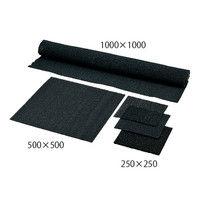 アズワン 活性炭フィルター 袋入り 500×500×9t 1枚 3-2327-02 (直送品)