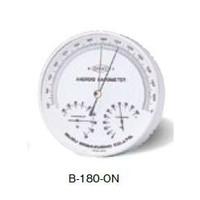いすゞ製作所 気圧計・高度計 標準型 アネロイド型気圧計 B-180-ON 1台 (直送品)