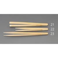 esco(エスコ) 1.0x200mm竹製ピンセット(先細) EA595GC-23 1セット(7本) (直送品)