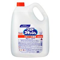 esco(エスコ) 4.5Lアルコール除菌液(ワイドスキッシュ) EA922KE-12A 1本 (直送品)