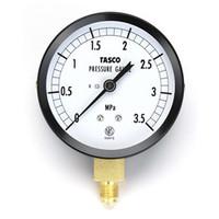 イチネンTASCO 普通型圧力計 75φフレアタイプ圧力計(3.5Mpa) TA141GA-235 1セット(2個) (直送品)