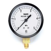 イチネンTASCO 普通型圧力計 75φフレアタイプ圧力計(5.0Mpa) TA141GF-250 1個 (直送品)