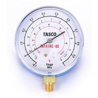 イチネンTASCO 普通型圧力計 R600a・R290 HC冷媒用圧力計 TA141HC-80 1セット(2個) (直送品)