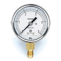 イチネンTASCO 普通型圧力計 3.5MPa1/4F60φゲージ TA147F-135 1個 (直送品)