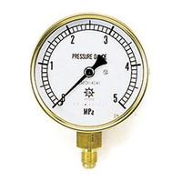 イチネンTASCO 普通型圧力計 5.0MPa1/4F75φゲージ TA147F-250 1個 (直送品)