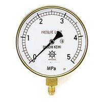 イチネンTASCO 普通型圧力計 3.5MPa1/4F100φゲージ TA147F-335 1個 (直送品)