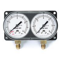 イチネンTASCO 普通型圧力計 モニターゲージキット(R410A) TA147X 1セット (直送品)
