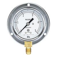 イチネンTASCO 普通型圧力計 5.0MPa1/4F60φゲージ TA148F-150 1個 (直送品)