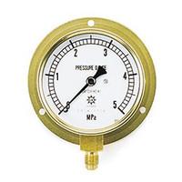 イチネンTASCO 普通型圧力計 3.5MPa1/4F75φゲージ TA148F-235 1個 (直送品)