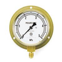 イチネンTASCO 普通型圧力計 5.0MPa1/4F75φゲージ TA148F-250 1個 (直送品)