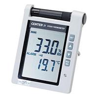 イチネンTASCO デジタル温湿度計 温湿度表示器 TA408CE 1台 (直送品)
