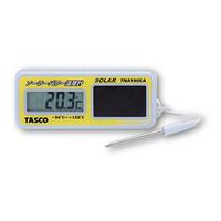 イチネンTASCO 温湿度計 ソーラー温度計 TA408GA 1個 (直送品)