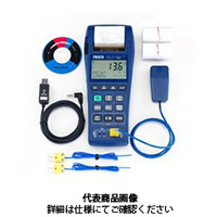 イチネンTASCO 温湿度計 2chデジタルレコード温度計 TA410EA 1個 (直送品)