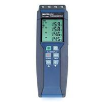 イチネンTASCO 温湿度計 4ch デジタル温度計 TA410WC 1セット (直送品)