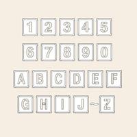 トーアン 測量用品 吹付ハザ折小 数字英字記号 170×150 29-201 1セット(2枚) (直送品)