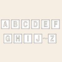 トーアン 測量用品 吹付ハザ折小 A〜Z(26枚組)170×150 29-204 1組(26枚) (直送品)