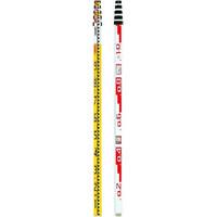 トーアン 測量用品 アルミスタッフ ALG-55Y 5m×5段 (011005) 41-010 1台 (直送品)