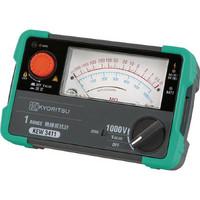共立電気計器 KYORITSU 1レンジアナログ絶縁抵抗計 KEW3411 1個 786-6321 (直送品)
