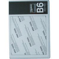 トラスコ中山(TRUSCO) 厚口カードケース B6 THCCH-B6 1枚 818-8209 (直送品)