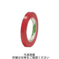 ニチバン(NICHIBAN) バッグシーリングテープNo.520 赤 9×50 520R 1巻 795-2635 (直送品)